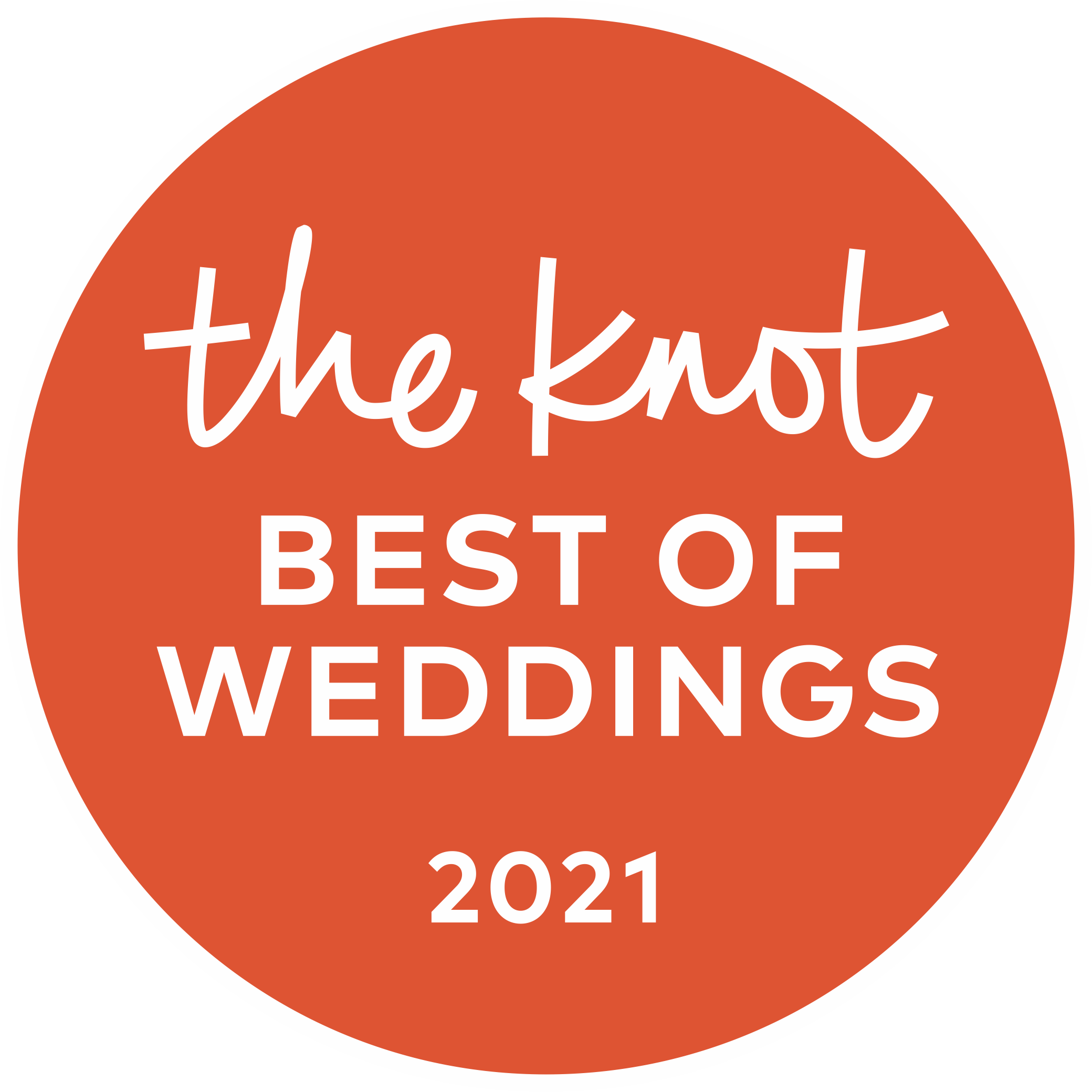 The Knot Best of Weddings - 2021 Pick